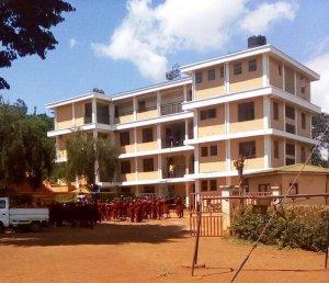 Ansicht der Upendo Schulein Mrimbo
