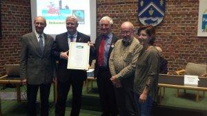 Verleihung der Ukrunde Fairtrade-Town im Rathaus Heikendorf am 6. November 2018