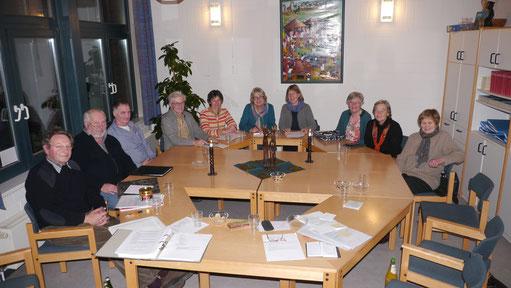 Sitzung Tansaniagruppe Heikendorf